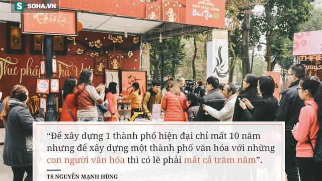 """TS Nguyễn Mạnh Hùng: """"Người Việt uống 4 tỉ lít bia, 300 triệu lít rượu/năm, nhưng tại sao lại không thể đọc sách 10 phút mỗi ngày?"""""""