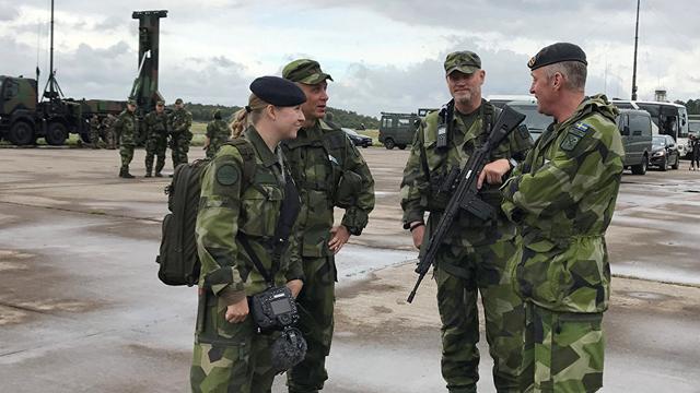 Thụy Điển ngán ngại sức mạnh quân sự Nga, tập trận rầm rộ