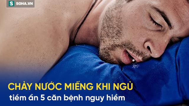 Chảy nước miếng khi ngủ: 5 dấu hiệu cảnh báo bệnh nguy hiểm người lớn nên biết