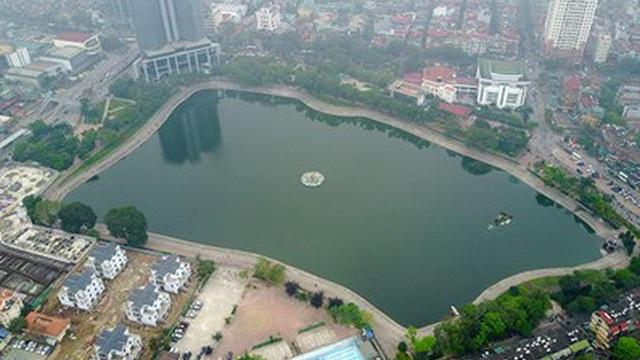Lấp hồ Thành Công xây nhà: Thông tin bất ngờ từ người dân và lãnh đạo phường