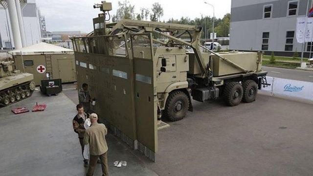 Cận cảnh xe chống bạo loạn của Nga dùng khung gầm Kamaz
