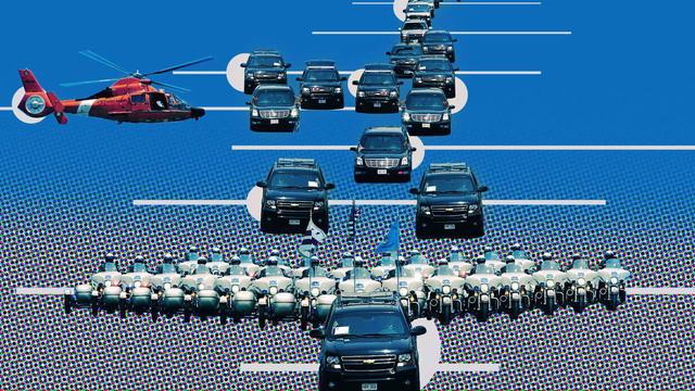 """Đội hình xe hộ tống Tổng thống Mỹ: Vì sao được gọi là """"Nhà Trắng bọc thép di động""""?"""