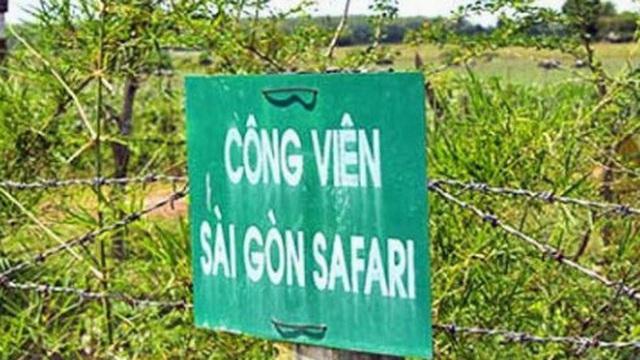 """Hàng trăm tỷ đồng tiền đền bù đã đổ vào dự án Sài Gòn Safari """"treo"""" 13 năm"""