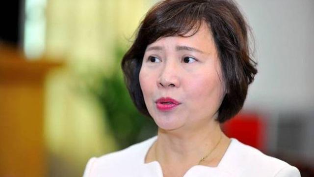 Thủ tướng miễn nhiệm Thứ trưởng Bộ Công Thương Hồ Thị Kim Thoa