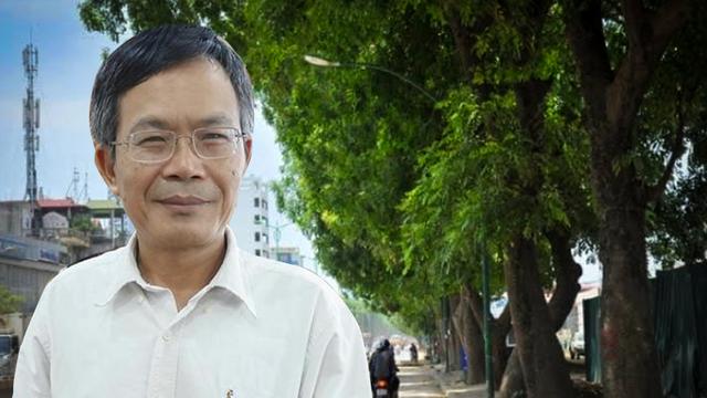 """Nhà báo Trần Đăng Tuấn: """"Nếu giữ cây xanh là bất khả kháng, Hà Nội cũng cần nói rõ"""""""