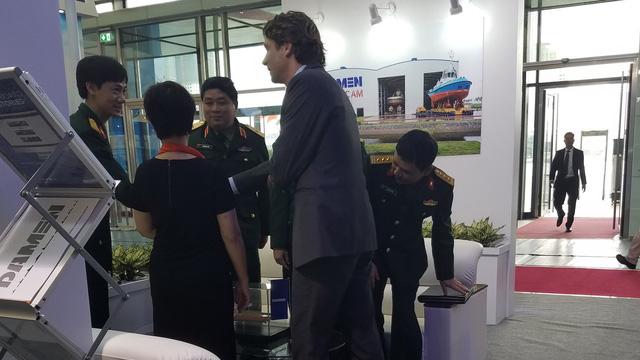 Damen chào bán tàu hộ vệ tên lửa Sigma với Hải quân Việt Nam tại Vietship 2018: Thay đổi?