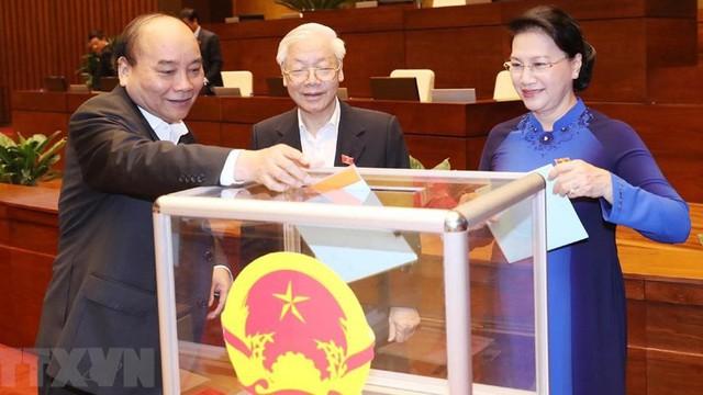 Chủ tịch Quốc hội Nguyễn Thị Kim Ngân nhận được phiếu tín nhiệm cao nhiều nhất
