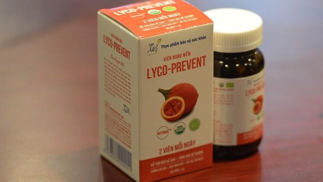 Viên nang gấc Lyco-Prevent: Sự khác biệt của sản phẩm hữu cơ chăm sóc gan và tăng sức đề kháng