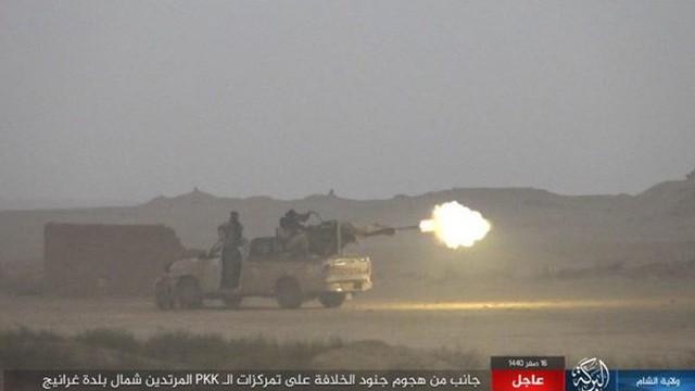 IS thắng - Lực lượng SDF mất hàng chục chiến binh tại Deir Ezzor