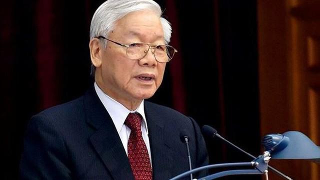 Tổng Bí thư Nguyễn Phú Trọng được giới thiệu để bầu giữ chức Chủ tịch nước