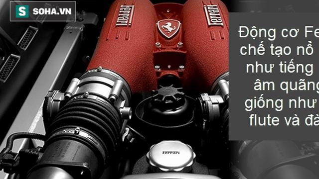 Sự thật thú vị: Động cơ xe Ferrari được chế tạo sao cho sẽ nổ như một đoạn hòa nhạc