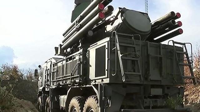"""Sau S-400, Nga tăng cường """"mãnh thú"""" Pantsir-S trực chiến ở Crimea"""