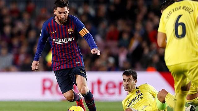 Messi kiến tạo tinh tế, Barcelona giành lại ngôi đầu La Liga