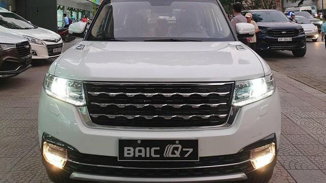 BAIC Q7 - SUV Trung Quốc nhái Range Rover giá 658 triệu đồng tại Việt Nam
