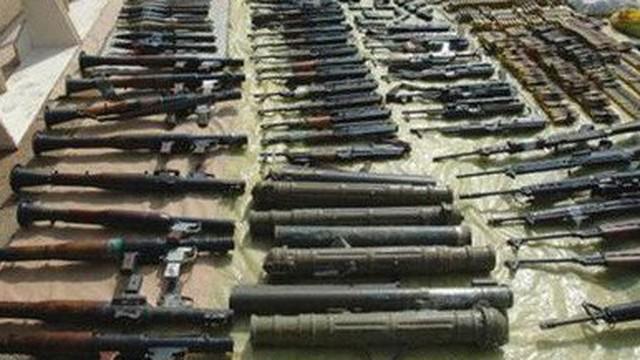 Syria: Bí mật trong kho vũ khí khổng lồ khủng bố giấu dưới lòng đất mới được phát hiện ở Daraa