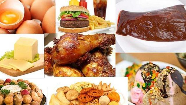 Thực phẩm nhiều cholesterol gây ung thư gấp 100 lần