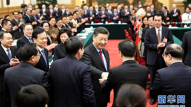 Đạt 100% phiếu thuận, ông Tập Cận Bình chính thức tái đắc cử Chủ tịch Trung Quốc nhiệm kỳ 2018 - 2023