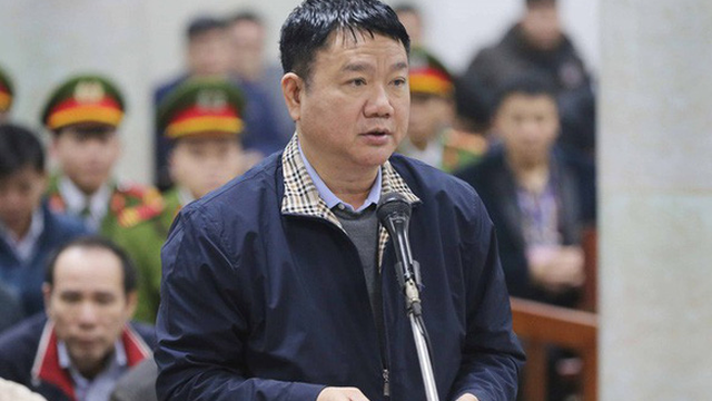 Hà Văn Thắm làm chứng trong phiên xét xử ông Đinh La Thăng