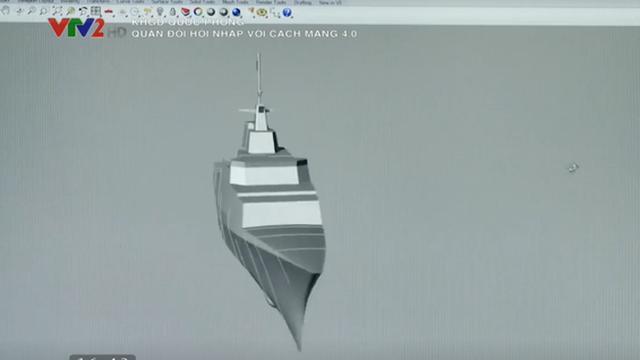 Chiến hạm Việt Nam đang thiết kế là bản tàng hình hóa của tàu hộ vệ tên lửa KBO-2000?
