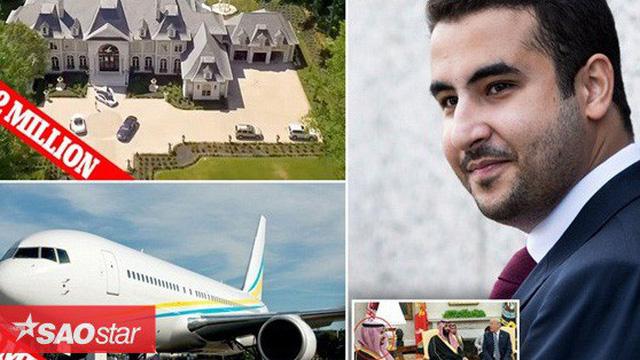 'Cung điện ánh sáng' vàng dát lên cửa và chuyên cơ xa xỉ tốn 30.000 USD một giờ bay của hoàng tử Ả-rập