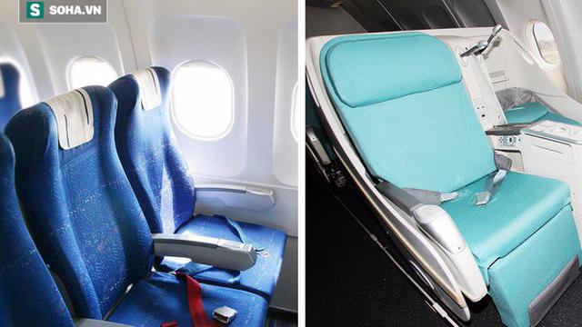 Tại sao phần lớn ghế máy bay có màu xanh? Câu trả lời khiến nhiều người bất ngờ