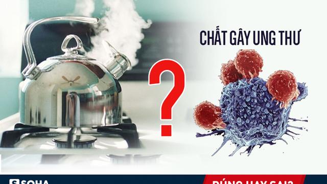 """Nước đun sôi khiến Clo phản ứng ra """"chất gây ung thư rất nguy hiểm"""": Đúng hay sai?"""