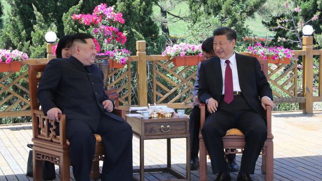 Ông Kim Jong-un vừa gặp ông Tập Cận Bình ở Đại Liên, Trung Quốc