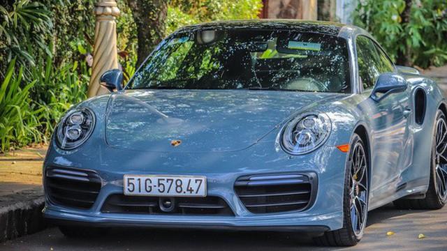 Ông chủ cafe Trung Nguyên tiếp tục mạnh tay tậu Porsche 911 Turbo S trị giá 15 tỷ đồng