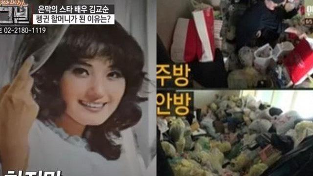 Sao nữ nổi tiếng Hàn ở trong căn nhà chứa 4 tấn rác, đầy thức ăn thối rữa, lúc nhúc giòi bọ