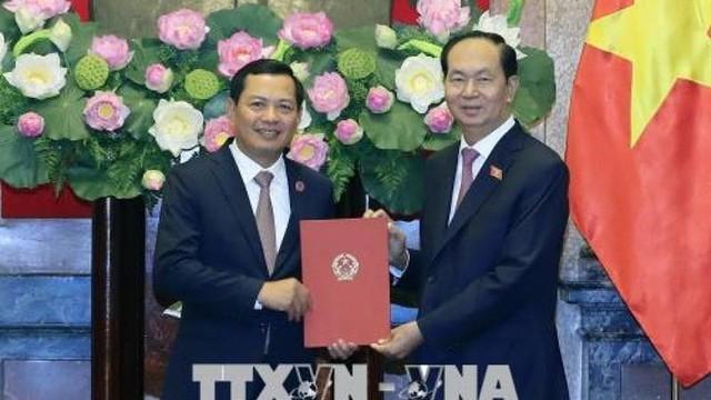 Chủ tịch nước trao quyết định bổ nhiệm lãnh đạo TAND Tối cao