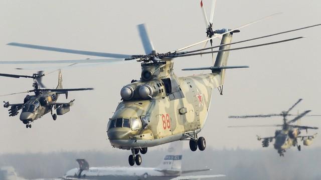 Nga sẽ đưa trực thăng gì tới Hà Nội trình diễn với Không quân Việt Nam?