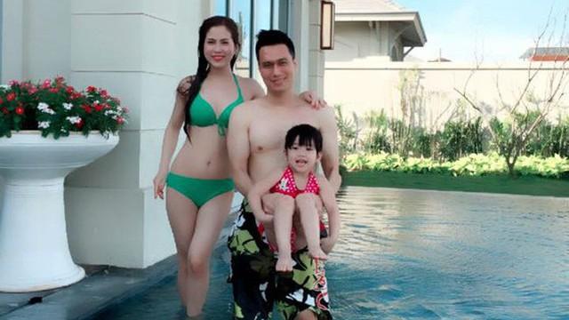 Chân dung người vợ nóng tính, hay ghen của diễn viên Việt Anh