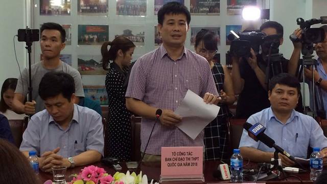 Họp báo chóng vánh rà soát điểm thi ở Lạng Sơn: 8/51 thí sinh bị giảm điểm thi sau chấm thẩm định