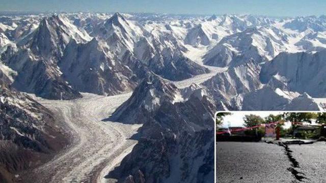 Những rãnh nứt khổng lồ đang xuất hiện ở Tây Tạng - chuyện gì đã xảy ra vậy?