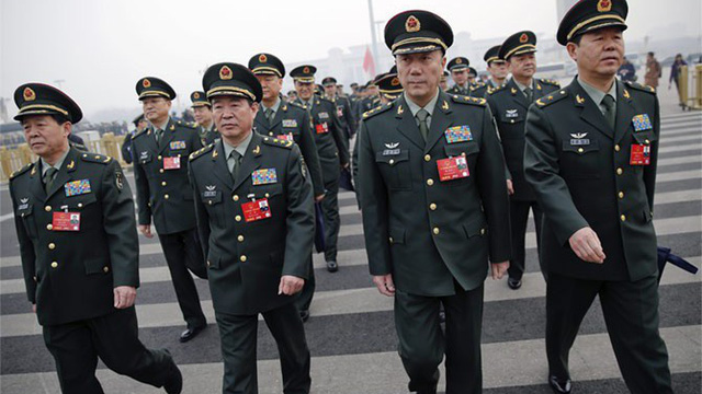 """Sóng gió trước đại bản doanh PLA: Thêm tướng cấp cao Trung Quốc """"sa lưới""""?"""