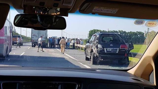 Người lái xe tải tông tài xế Lexus biển tứ quý tử vong: 'Tôi bị giật mình, không xử lý kịp'