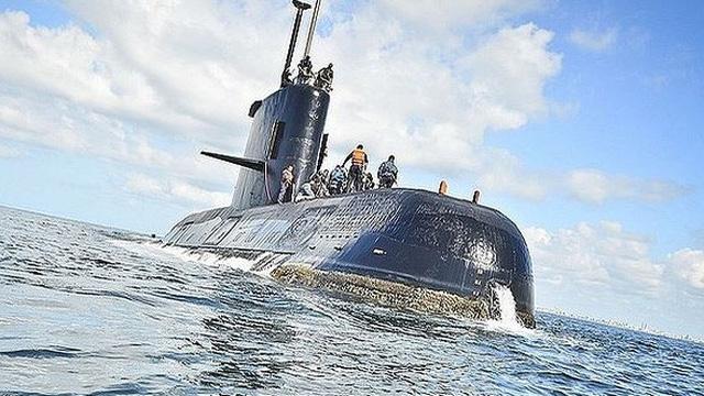 Phát hiện vật thể nghi xác tàu ngầm Argentina mất tích với 44 thủy thủ