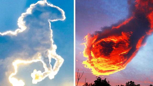 Những đám mây kỳ quặc có thể bạn không tin vào mắt mình