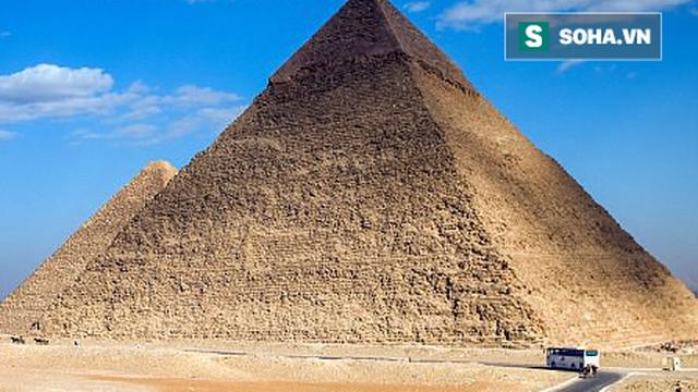 Phát hiện căn phòng lớn trong kim tự tháp Giza, nghi chứa ngai vàng bằng sắt thiên thạch