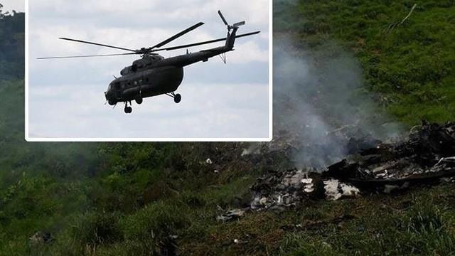 Trực thăng chở 10 người gặp nạn thảm khốc, không ai sống sót