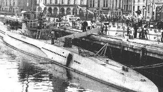 Tàu ngầm U-1206 chìm vì… phòng vệ sinh