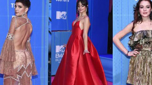 Thảm đỏ MTV EMA 2018: Người lộng lẫy như công chúa, người khoe body gợi cảm