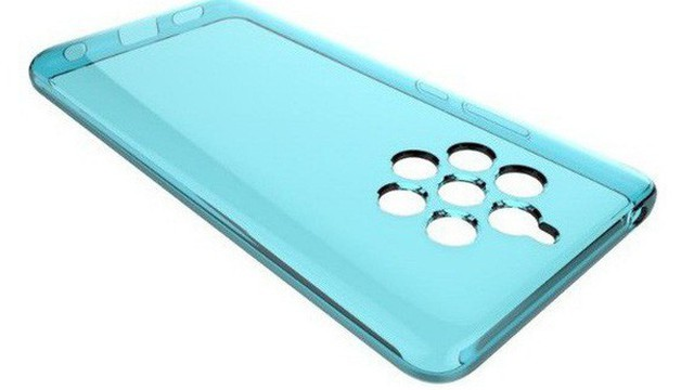 Lộ ảnh thiết kế case dành cho Nokia 9 PureView, xác nhận có 5 camera sau