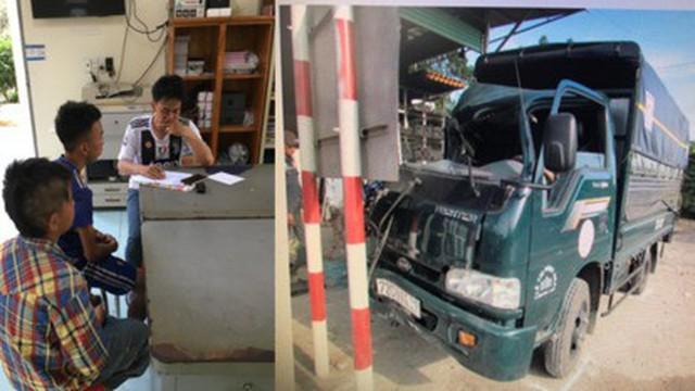 Game thủ 13 tuổi trộm xe tải lái chạy trốn gây tai nạn