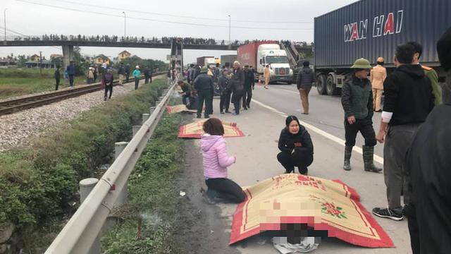 Một bí thư chi bộ thôn bị tai nạn tử vong cách đây không lâu tại nơi xe tải tông 8 người chết