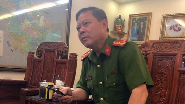 Đình chỉ công tác Trưởng Công an thành phố Thanh Hóa
