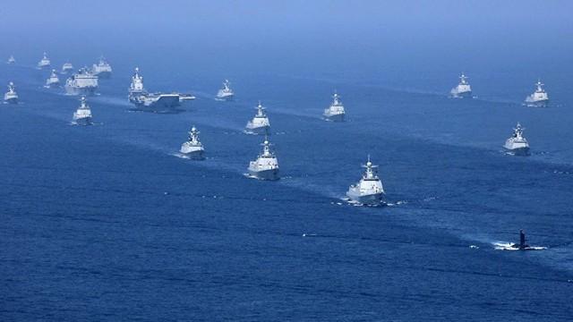 """Ác mộng đối với Nhật Bản: Máy bay, tàu chiến Trung Quốc """"nhiều như ruồi bu"""""""
