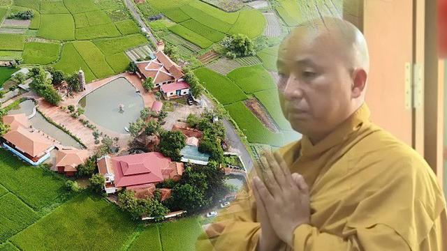 Sư Toàn xin vắng mặt nên chưa thể bàn giao chùa và làm rõ số tài sản 200 - 300 tỷ