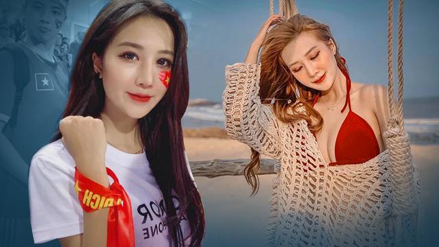 """Đăng ảnh selfie trên khán đài sân Mỹ Đình, nữ CĐV """"gây bão"""" bật mí sự thật bất ngờ"""