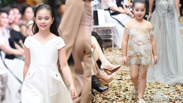 Mẫu nhí Chíp Măng, Trà My tỏa sáng tại show thời trang có Mai Phương Thúy, Tú Anh